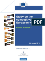 Study on the competitiveness of European wines