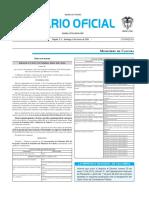 Diario oficial de Colombia n° 49.807. 06 de marzo de 2016