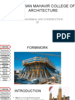 Form Work Final ArCHITECTURAL