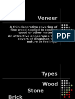 PPT on Veneer and Laminates Architectural
