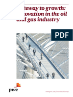 Pwc Gateway to Growth Innovation in the Oil and Gas Industry