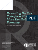 Rewriting the Tax Code Report for a Stronger, More Equitable Economy