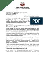 Resolución contra Acuña N.° 196-2016-JNE