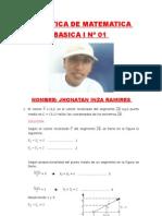 PRACTICA DIRIGIDA DE MATEMATICA BASICA I Nº 01