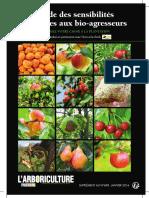 guide de sélection des variétés fruitières en AB