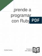 Aprende a Programar Con Ruby