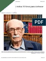 Antonio Candido Indica 10 Livros Para Conhecer o Brasil – Blog Da Boitempo