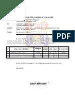 Modelo de Informe de Examen de Subsanación.