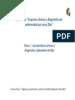 Tema i Cap II Caracteristicas Clinicas y Diagnostico Zika