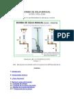construccion Bomba de Agua Manual