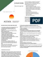 Acesol Estudio Mercado Chileno