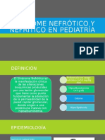 sindrome nefrotico y nefritico