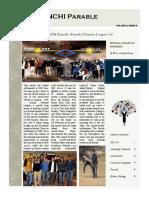 Parable - IIM Ranchi, February 2015