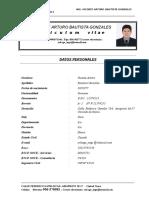 c Vitae Ing. Bautista Gonzales Arturo