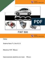 Apresentação Eletromecânica Fiat 500