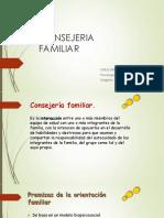 Habilidades en Consejeria Familiar