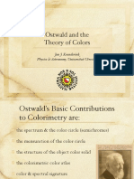 Ostwald and the Sistem of Color
