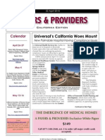 Payers & Providers – Issue of April 22, 2010