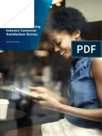2014 KPMG Banking Industry Customer Satisfaction Survey