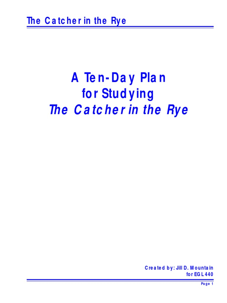worksheet The Catcher In The Rye Worksheets catcher paragraph poetry