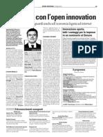 08-12-09 Piu Lavoro Con l' Open Innovation