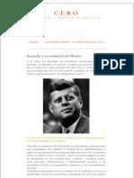 Kennedy y Su Sentencia de Muerte