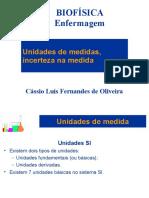 02-Unidades de Medidas - Biofísica - 2015