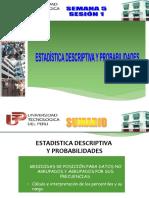 u2 Sem5 Ses1 Teoria-medidas de Posicion Para Datos No Agrupados y Agrupados Por Sus Frecuencias