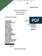 Superseding indictment in United States v. Ammon Bundy, et al