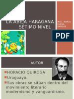 Guía de Lectura La Abeja Haragana