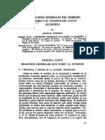 Los Principios Generales Del Derecho Sucesorio y El Tramite Del Juicio Sucesorio