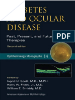 Diabetes and Ocular Disease Past, Present, And Future Therapies