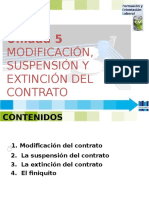 Fol 5 Modificacion Suspension y Extincion Contrato -2015.Pptx [Autoguardado]