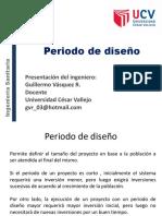 Clase 5.- Periodo de Diseño