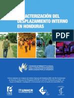 Caracterización Desplazamiento Interno en Honduras