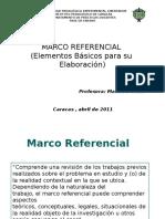 Criterios Para La Elboracion de CapituloIIMarco Referencial