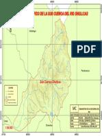 Sub Cuenca Shullcas Mapa Topografico