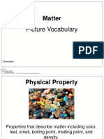 chemistry picture vocabulary- matter