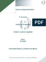 Unidad 2. Justicia y Legalidad