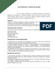 Medidas de Gestión y Control de La Calidad Para Propuestas