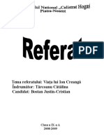 Ion Creanga referat.doc