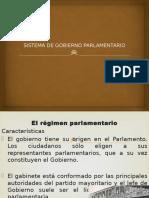 Sistema de gobierno Parlamento