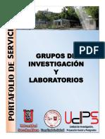 Portafolio de Servicios Facultad de Salud - Grupos de Investigación (1)