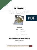 Proposal Kewirausahaan Aneka Produk Kerajinan Dari Limbah Sisik Ikan