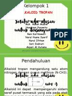 Alkaloid Tropan KLP 1