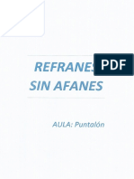 Refranes Sin Afanes Pun (1)