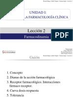 Farmacologia farmacodinamia