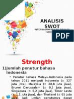 Analisis SWOT BI