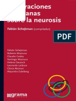 Elaboraciones Lacanianas Sobre La Neurosis [Fabián Schejtman]