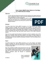 Monthly Achievement Report Pez Maya July 2015